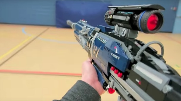 YouTuber Builds Lego Version Of Widowmaker's Sniper Rifle From Overwatch