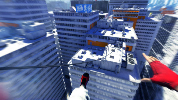 Speedrunners Work Together To Parkour Through Mirror's Edge
