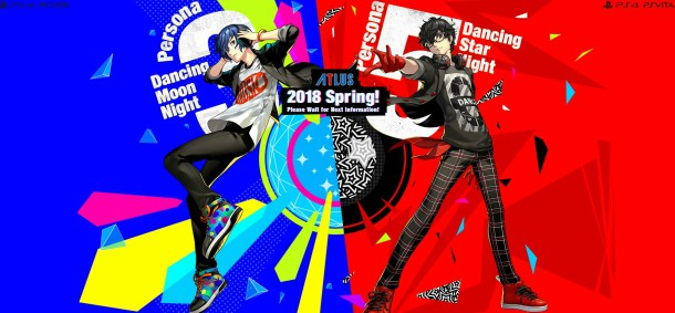 Persona 3 and Persona 5 Dancing Titles Will Support PSVR