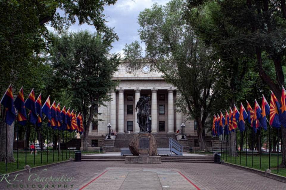 Downtown Prescott Courthouse square