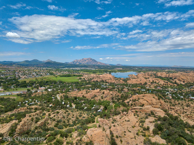 Point of rocks rv campground in Prescott Arizona, RV Camping at 1 mile high.