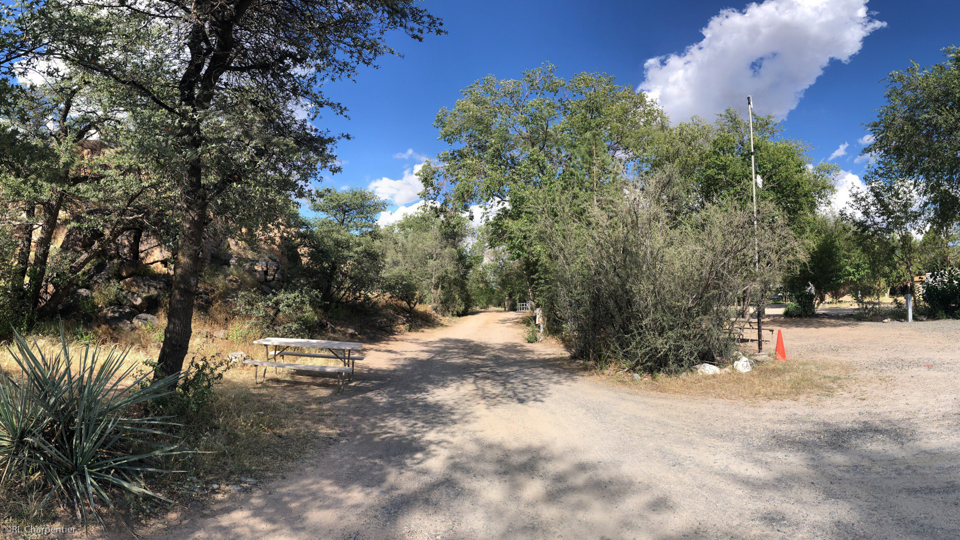 Pull Through Camping Site Prescott Arizona