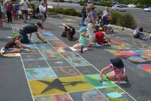 Family friendly Arizona art show - Chalk It Up! Prescott