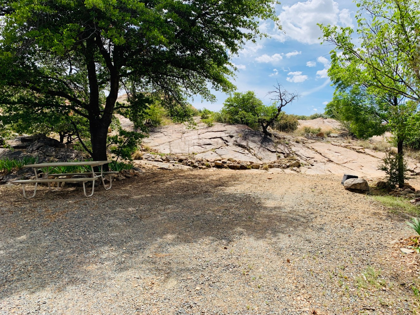 Campsite 9 at Point of Rocks RV Campground