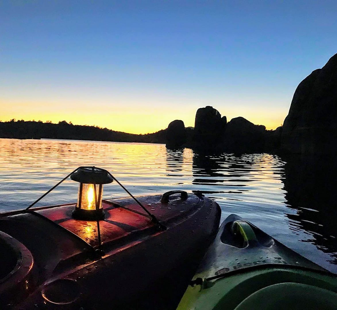 Prescott Moonlight Kayaking