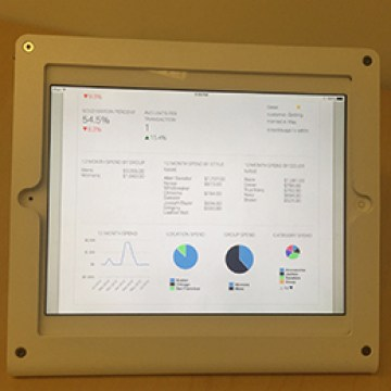 ipad customerdashboard
