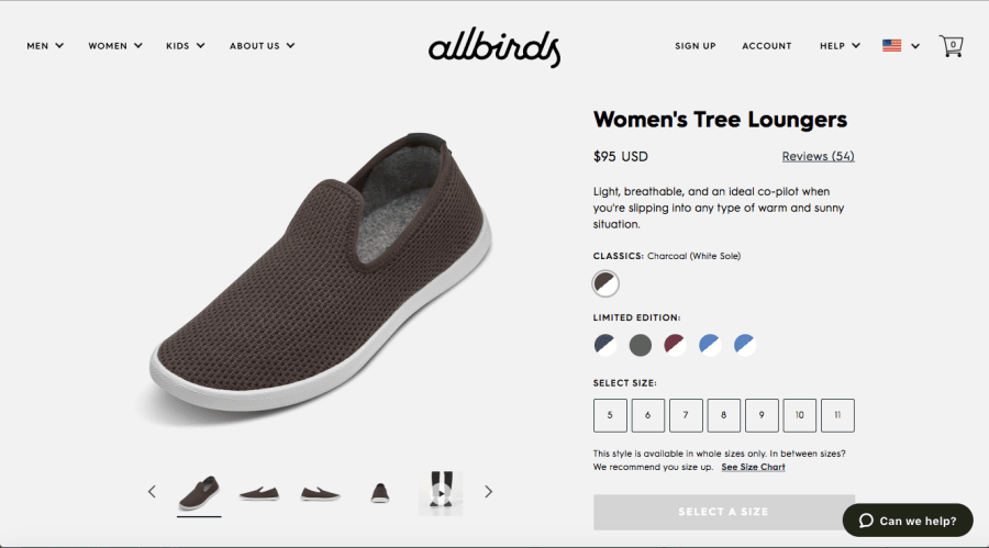 PointofSale-Allbirds-product-e-commerce-marketing-strategy