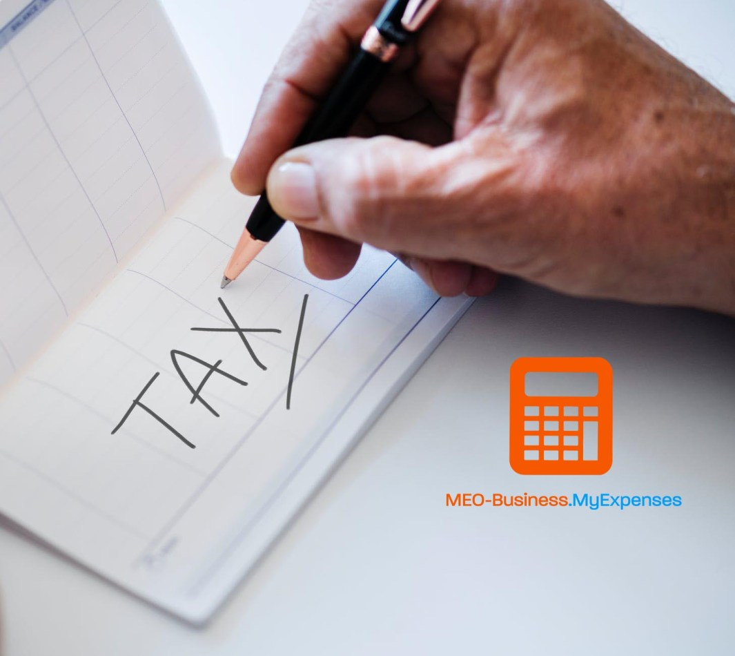 MyExpenses tax tracking