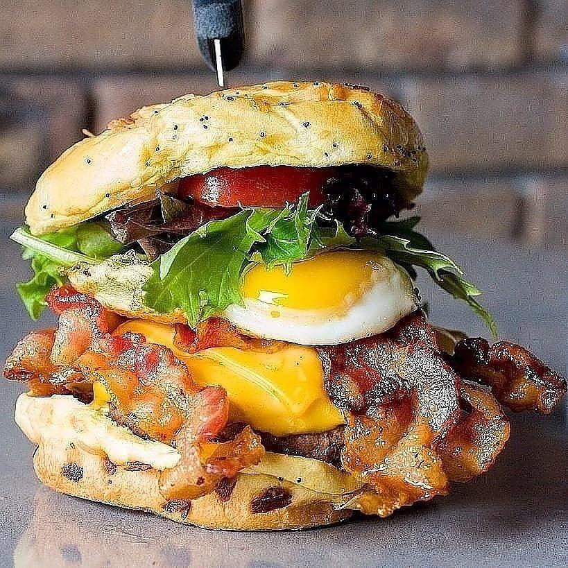 The Mondragan Burger at Tucker Dukes. Courtesy of Tucker Dukes.
