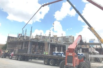 Pompano Beach Construction: Work is moving rapidly on the Fishing Village Hotel