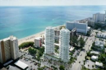 PROPOSED OCEAN PARK BEACH RESIDENCES A1A Pompano Beach Real Estate Construction
