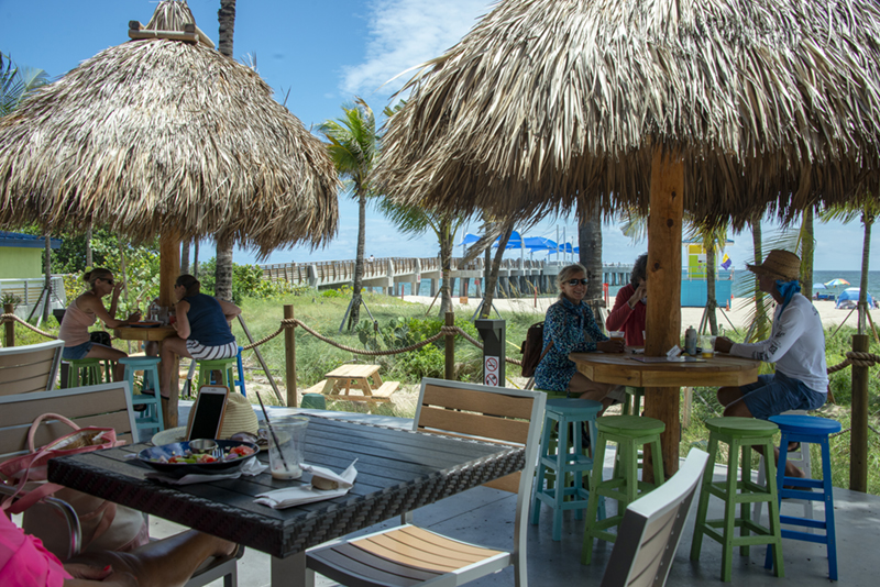 Lucky Fish Beach Bar and Grill