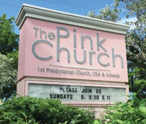 pinkchurch_sign