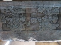 Carving, Tomb of Pakal, Palenque Museum