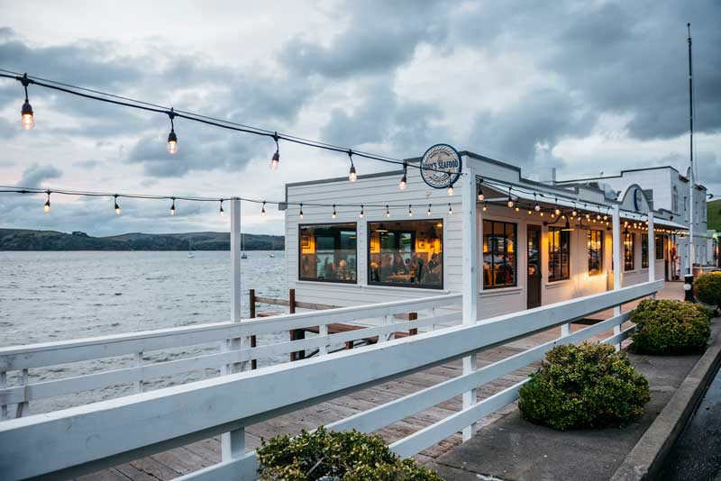 point reyes romantic restaurants