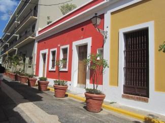 Bright and vibrant architecture