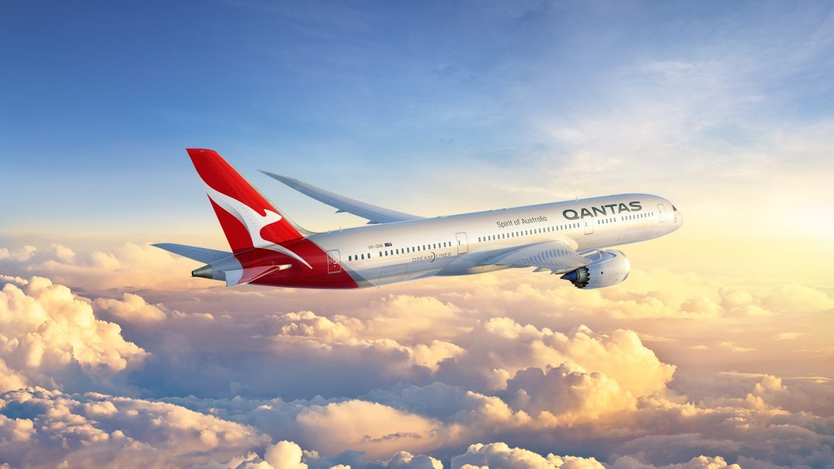 Qantas Have Officially Named Their 787's