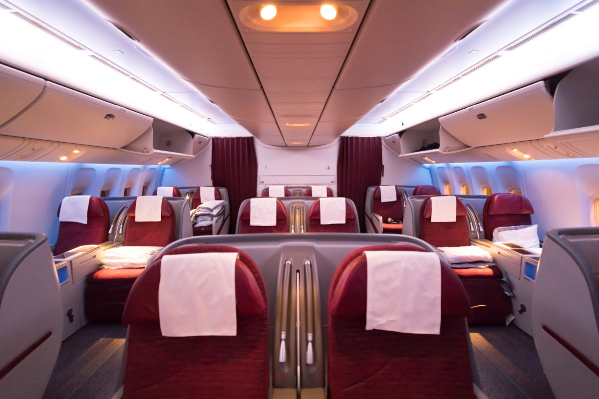 Review - Qatar 777-200LR Business Class Doha - Auckland, The Longest Flight In The World