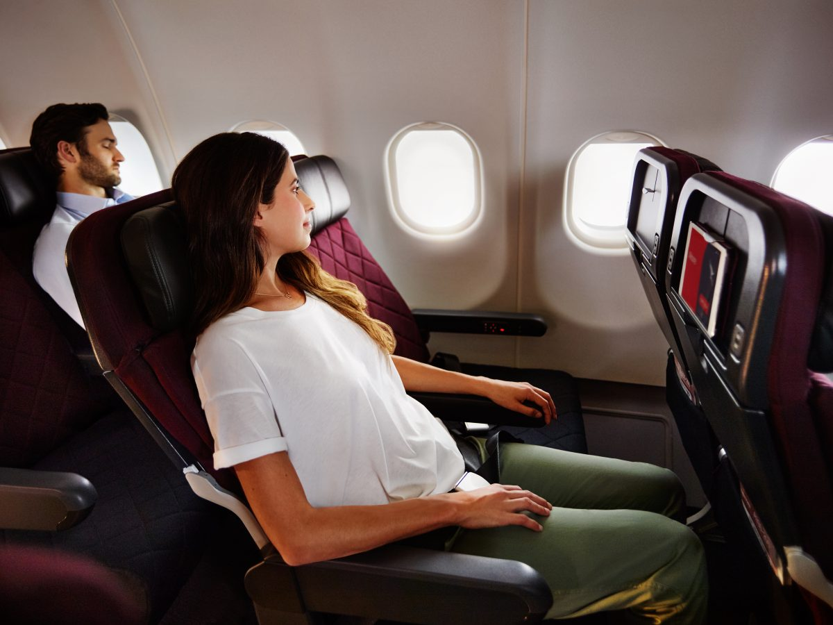 Qantas Has Revamped Their Domestic Economy Menus