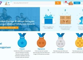 Blibli.com rewards