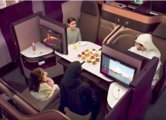 Qatar QSuites Business Class