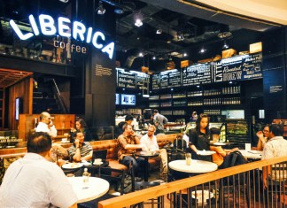 Liberica Coffee Stamps
