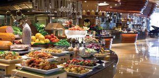 dining buffet
