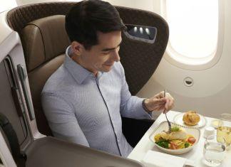 singapore airlines kelas bisnis