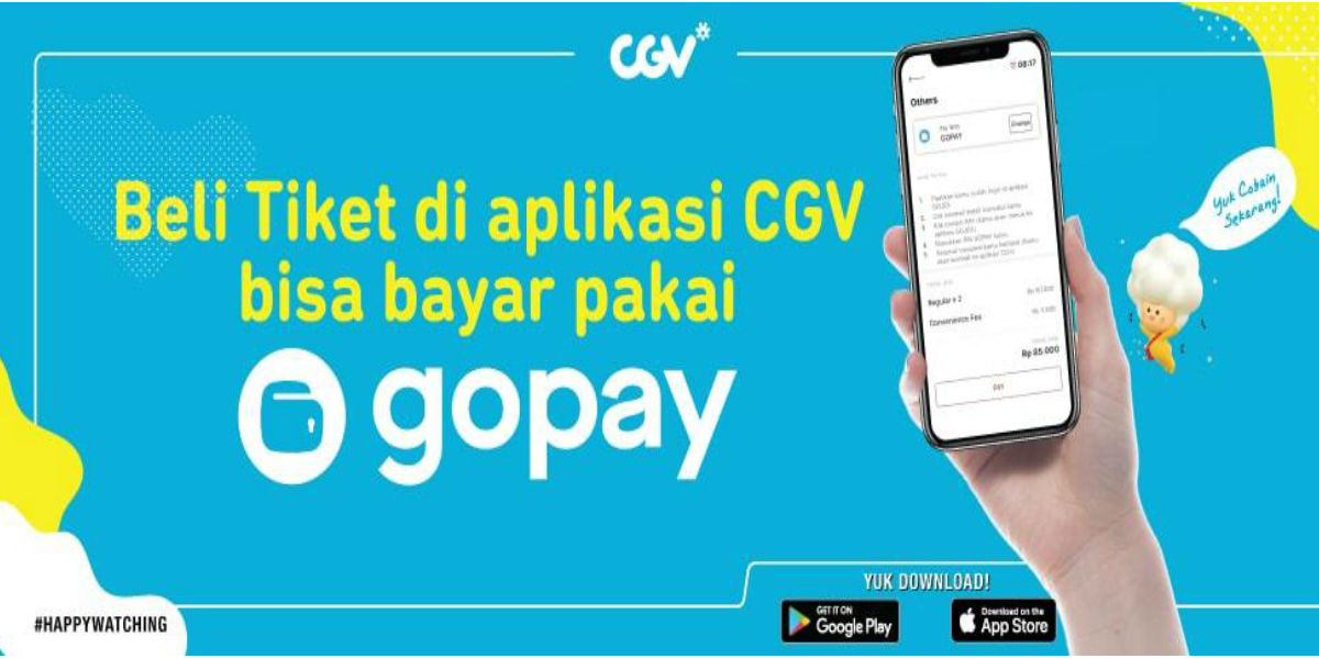 gopay cgv