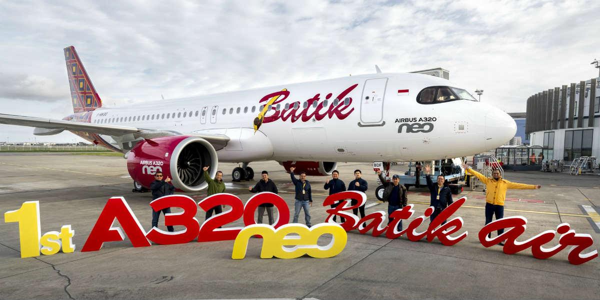 Batik Air A320neo Pesawat Lion Air Group