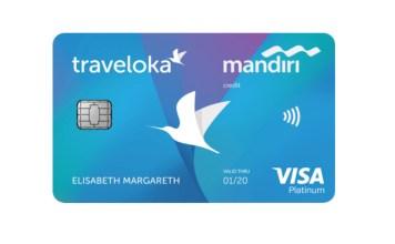 Kartu Kredit Mandiri Traveloka