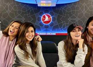 Turkish Airlines Marianne Rumantir Luna Maya