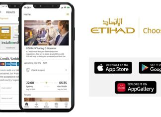 Aplikasi Etihad Airways Etihad Guest FARFETCH
