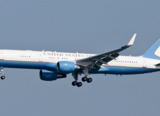 pesawat wakil presiden boeing 757