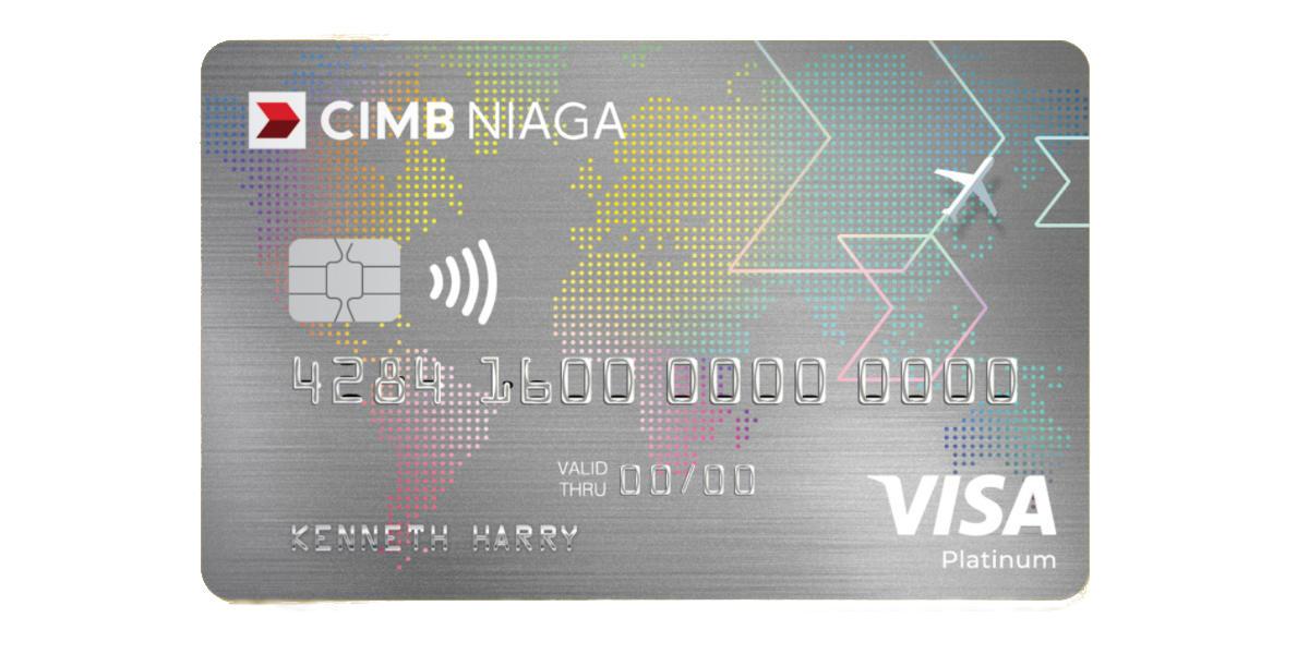 CIMB NIAGA VISA TRAVEL CARD cimb niaga kartu kredit