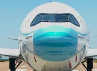 masker Livery Pesawat garuda indonesia
