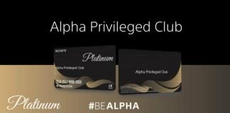 Sony Alpha Privileged Club