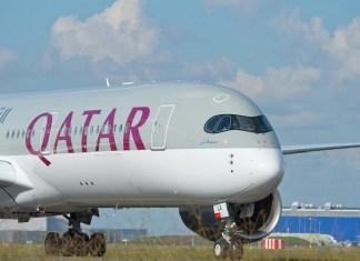 Qatar Airways A350 rute thailand