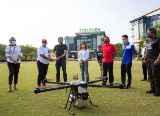 AirAsia Teleport Drone