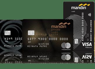Kartu Kredit Mandiri visa Contactless mandiri traveloka eats