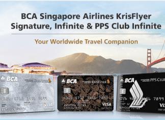 Kartu Kredit BCA Singapore Airlines KrisFlyer miles