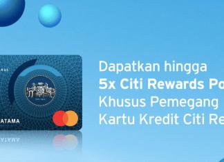 kartu kredit Citi Rewards