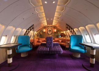 Qantas First Class Boeing 747 Musem
