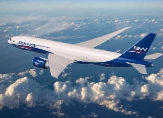 Silk Way West Boeing 777 Freighter