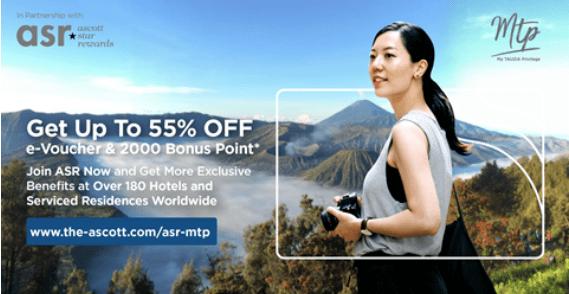 Kini, Member Tauzia Daftar Ascott Star Rewards Dapat E-voucher 55%