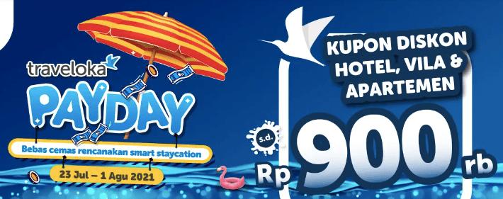 Traveloka Payday Juli 2021
