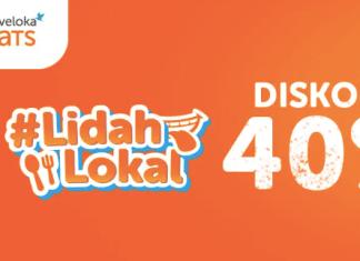 Traveloka Eats Diskon 40