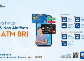 BRI Kartu ATM BRImo aktifkan non aktifkan