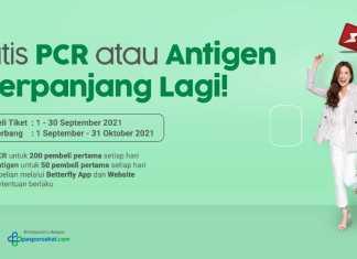 CITILINK TES PCR GRATIS SEPTEMBER 2021