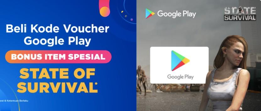 DANA Voucher Google Play 15 September 2021